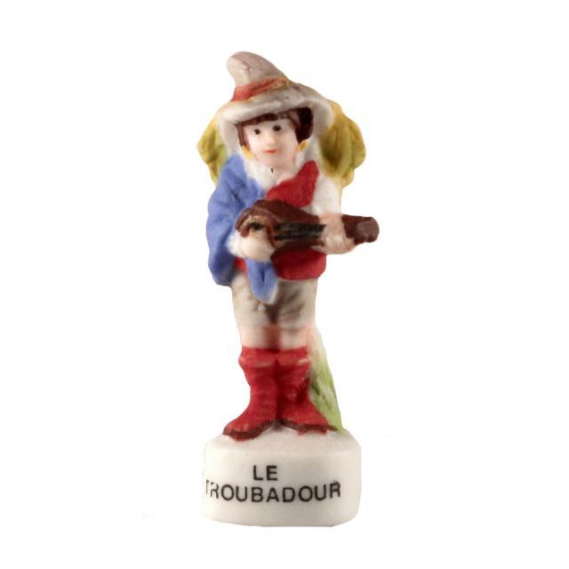 フェーブle Troubadour 吟遊詩人 19世紀のイラスト フェーブなつじかん